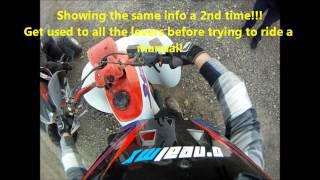 Як їздити на ручний чотирьохядерні або ATV (Хонда 250ex & TRX400ex показані)