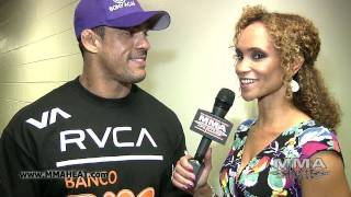 UFC 133: Vitor Belfort Post-Fight Interview: Wants Silva/Okami Winner Next