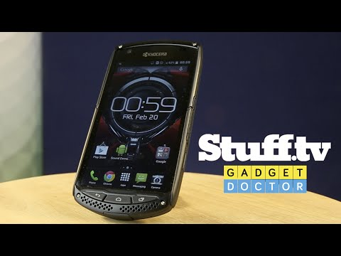 Gadget Doctor: Kyocera Torque - dropped, dipped, and prodded