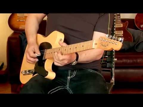recent Fender Roadworn '50s Telecaster Butterscotch blonde / Blackguard