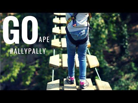 Go Ape Alexandra Palace #AllyPally