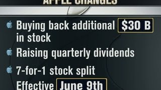 Gambar cover Apple to split its stock