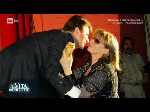 È morto Paolo Limiti, l'addio di Iva Zanicchi a un uomo speciale - La Vita in Diretta 27/06/2017