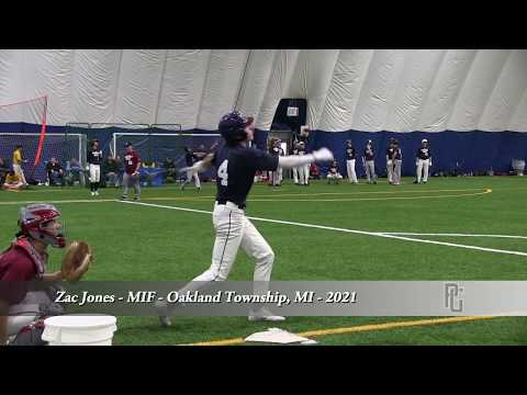 Zac Jones - MIF - Oakland Township, MI - 2021