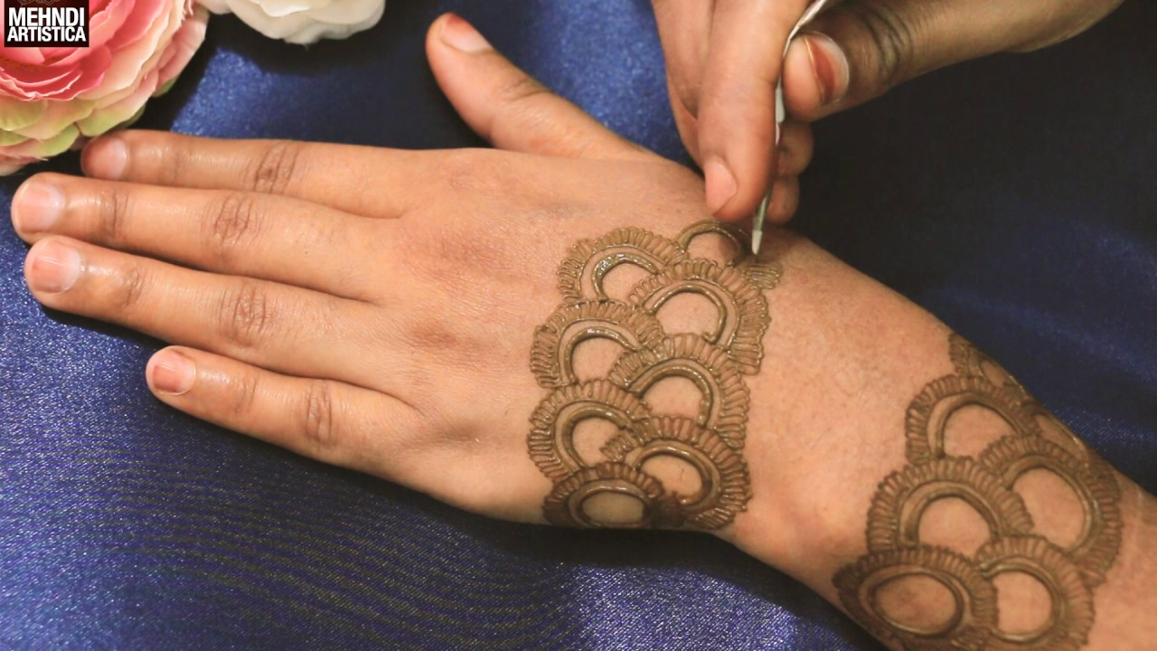 Mehndi design 2017 ki - New Creation Henna Mehndi Designs For Hands Easy Simple Beautiful Mehendi Design 2017