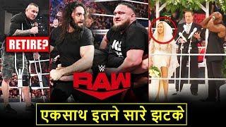 'RAW Ne Dara Diya😧' Randy Orton RETIRES? Lana/Lashley CRASHED Wedding - WWE Raw Highlights 2019