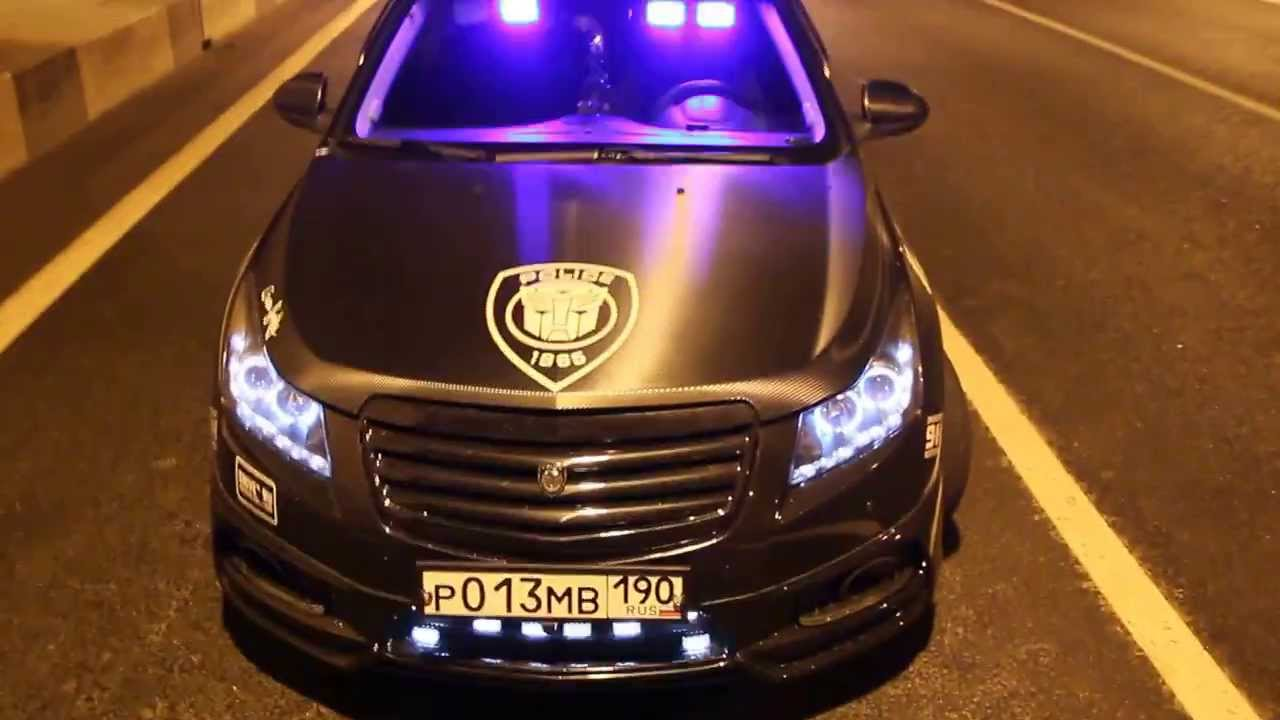 Chevrolet Cruze Police Control Vol 1 Youtube