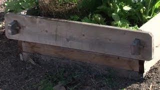 How To Make A Raised Planter With Landscape Timbers : Raised-bed Gardens