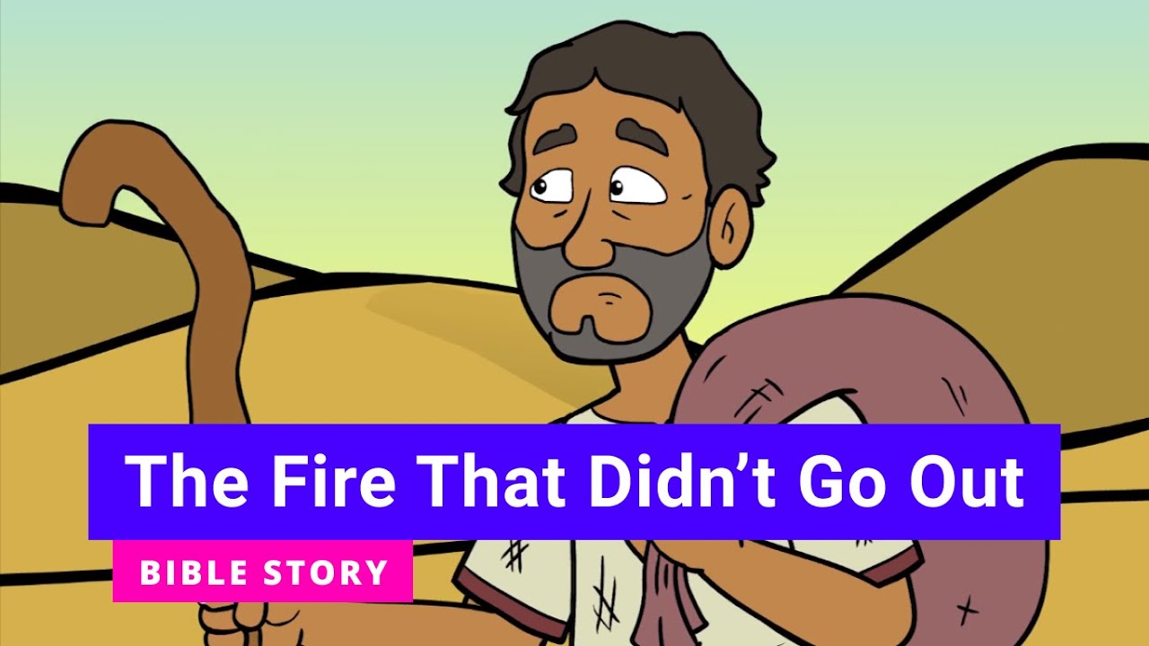 """Download Bible story """"The Fire That Didn't Go Out"""" 