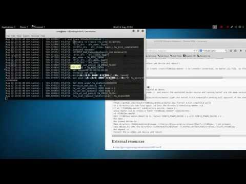 How to Install Alfa AWUS036AC Wireless Driver on Kali Linux 2.0