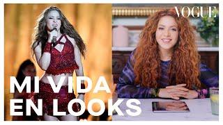 Shakira cuenta la historia de su look en el Super Bowl 2020 | Mi vida en looks | Vogue México