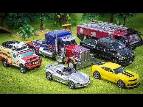 Transformers Autobot Optimus Prime Sentinel Prime Ironhide Bumblebee Sideswipe Ratchet Car Robot Toy