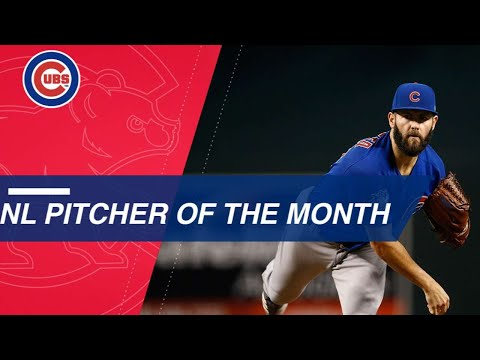 August NL Pitcher of the Month: Jake Arrieta