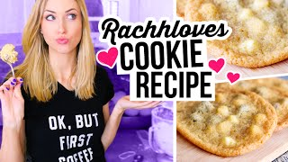 The Best Soft & Chewy Chocolate Chip Cookies || Rachhloves Cookie Recipe