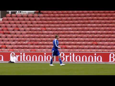 Bradley James Playing In The Big Match (3)