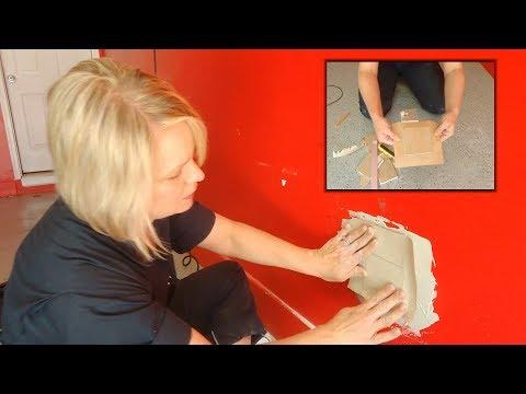 Repairing Drywall - Fixing Medium to Large Holes
