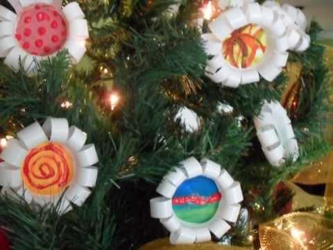 Decoracion arbol navidad uninorte 2010 youtube - Decoracion con reciclaje ...