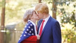 Hillary Clinton And Donald Trump Get Romantic In Hilarious Mock Engagement Shoot