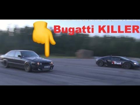 1001 HP Bugatti KILLER BMW M5 E34 FOR SALE! Epic BMW M5 E34 Turbo available in Sweden
