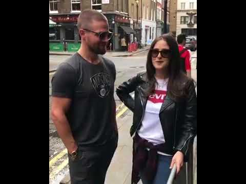 STEPHEN AMELL FACEBOOK LIVE IN LONDON  MAY 25TH 2018   / HVFFLONDON