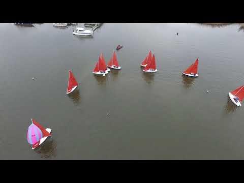 Broadland Squib Sailing Regatta 2018