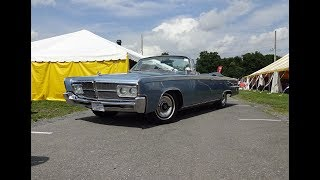 1965 Chrysler Imperial Convertible in Blue Paint & Engine Sound on My Car Story with Lou Costabile
