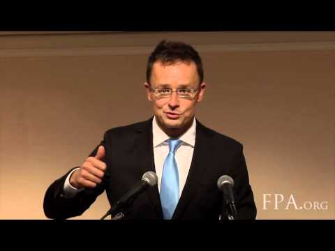 H.E. Péter Szijjártó, Minister of Foreign Affairs and Trade of Hungary