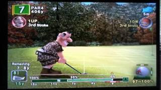 Hot Shots Golf FORE Autumn Golf Tourney (Round 1, Part 1)