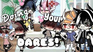 Doing your dares!~ || Gacha Life || Short (lazy;-;)