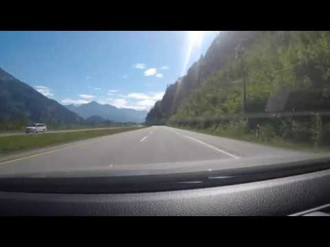 Beautiful Drive from Hope to Princeton, BC, Canada