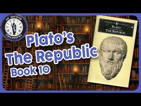 Plato's Republic- Book 10