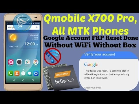 How To Google Account Bypass MTK Chip FRP Reset Done | Phần