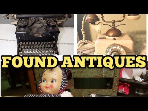 FOUND ANTIQUES I Bought Abandoned Storage Unit Locker / Opening Mystery Boxes Storage Wars Auction