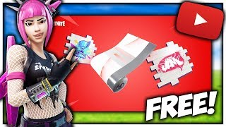 How To Get The Free Fortnite YouTube Wrap And Rewards! | Fortnite YouTube World Cup Rewards #BHopRC