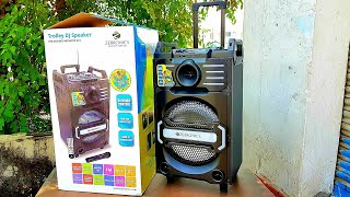 Zebronics ZEB Moving MONSTER X10 TROLLEY SPEAKER  || UNBOXING/REVIEW ||  AMAZING DESIGN/BASS