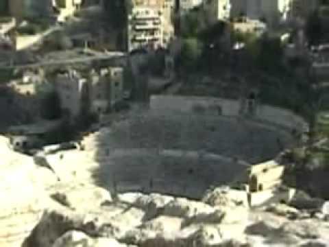 Tours-TV.com: Roman amphitheater on the Citadel Mountain in Amman