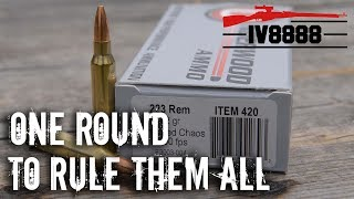 Home Defense & Hunting: Can One Round Do Both?