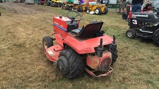 Gravely 8183-T Tractor Pulling Bethlehem CT Fair 091315
