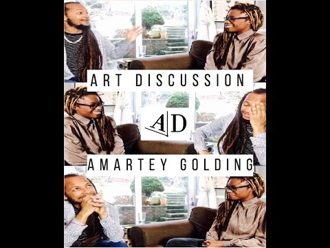 Amartey Golding, Art Discussion: In Conversation with Adelaide Damoah