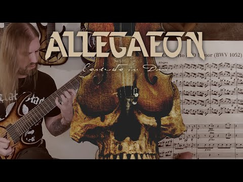 Allegaeon - Concerto In Dm (PLAYTHROUGH / DOCUMENTARY)