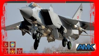 FULL VIDEO BUILD MIG-31 FOXHOUND By AMK
