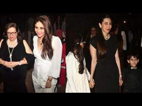 Kareena Kapoor & Karishma ATTEND MIDNIGHT Mass on ...