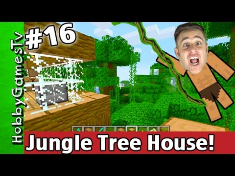 Jungle tree house minecraft xbox one tutorial survival for Jungle house music