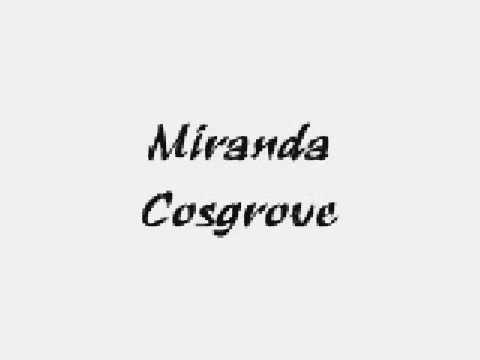 Songtext von Miranda Cosgrove - About You Now Lyrics