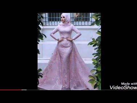 تشكيله فساتين سواريه للمحجبات غايه الجمال ذوق واناقهA Variety Of Dresses Veiled Soiree Magnificence.