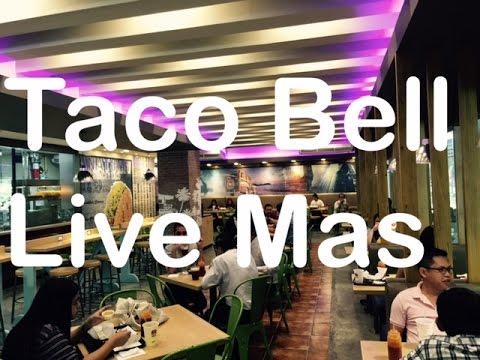 Taco Bell Live Mas Gateway Mall Araneta Center Quezon City Manila Philippines by HourPhilippines.com