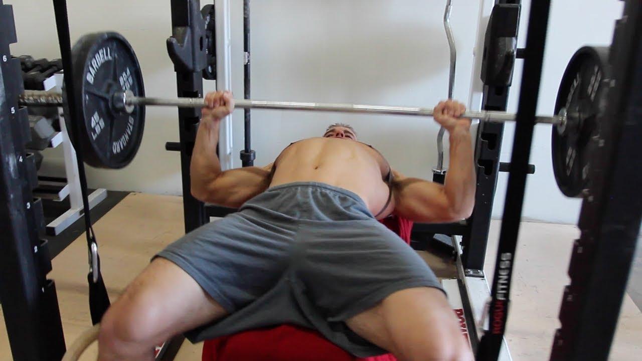 correct way to bench press