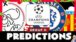 2019/20 Champions League Group H - Predictions