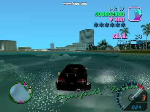 Gta  Cheats Car Drive On Water