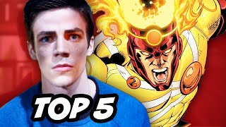The Flash Episode 13 - TOP 5 Easter Eggs and Firestorm